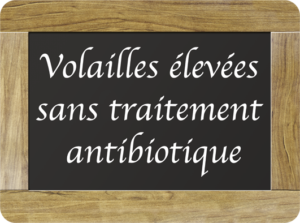 Auvray Volailles-volailles élevées sans antibiotiques
