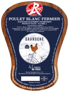 POULET FERMIER BLANC Gavroche-Auvray Volailles
