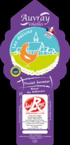 Poulet Fermier Blanc Les Délices-Auvray Volailles