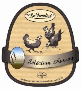 Poulet Sélection Auvray-Le Familial-Auvray Volailles