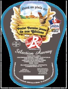Poulet fermier jaune de nos Gâtines-Auvray Volailles